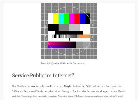 Service Public SRG