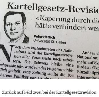 Peter Hettich: Zurück auf Feld zwei